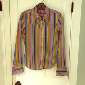 Woman's French cuff dress shirt
